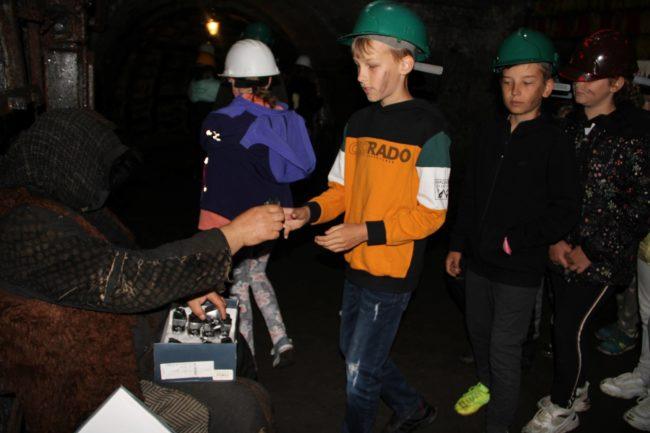 w kopalni - skarbnik
